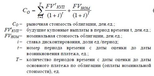 Общая формула расчета